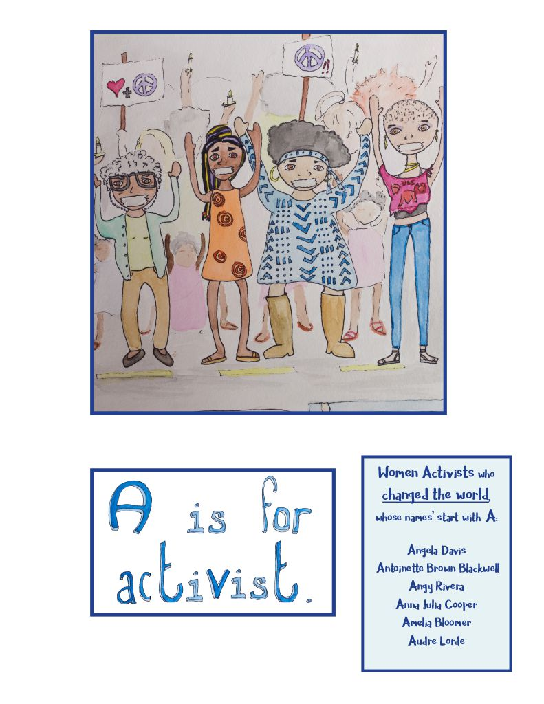 ABC Like A Girl by Ariel Shultz – A is for Activist